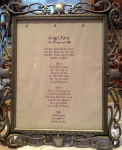The original lyrical gift of Angel Mine from 2001.